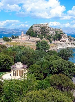 Corfu's Old Fortress