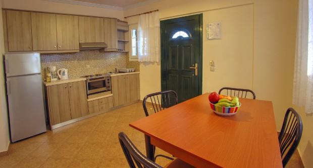 Corfu Apartments Kitchen