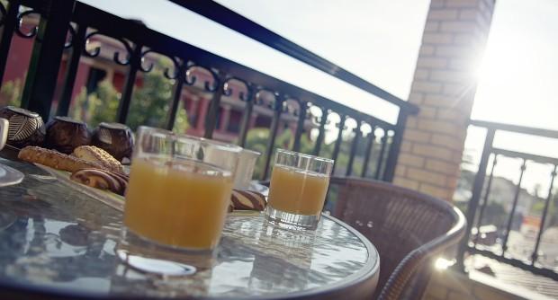 Corfu Apartments Balcony